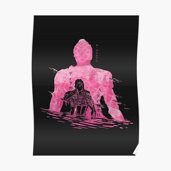 Diavolo's Future:Jojo's Bizarre Adventure Vento Aureo/Golden Wind Poster