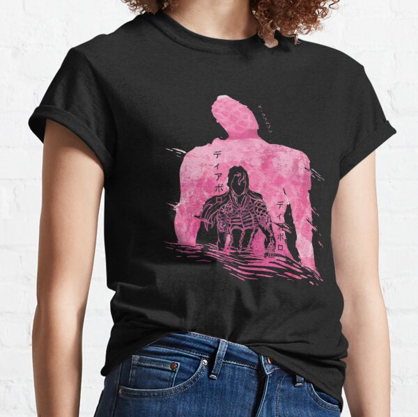Diavolo's Future:Jojo's Bizarre Adventure Vento Aureo/Golden Wind Classic T-Shirt
