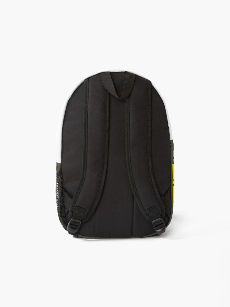 """Alternate view of SCP Foundation """"Anomalous content"""" Backpack"""