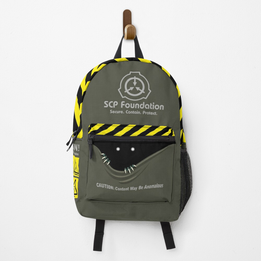 """SCP Foundation """"Anomalous content"""" Backpack"""