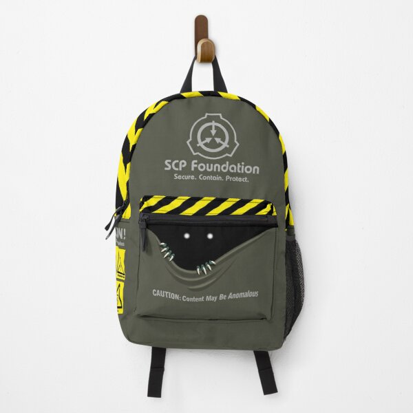 "SCP Foundation ""Anomalous content"" Backpack"