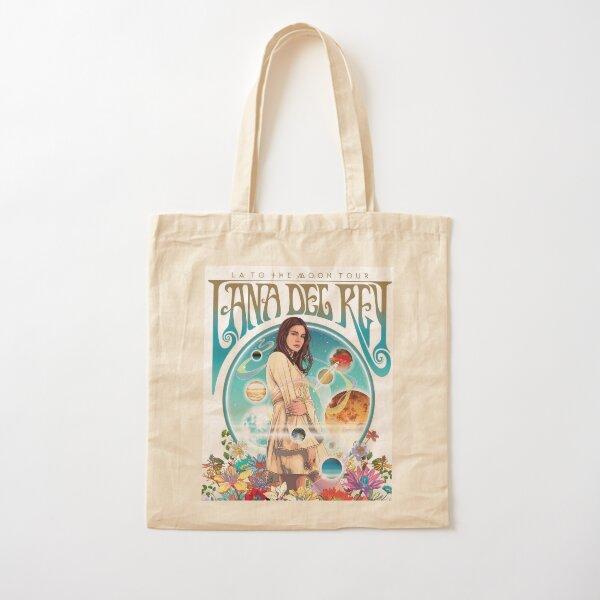 Lana Tours Art Cotton Tote Bag