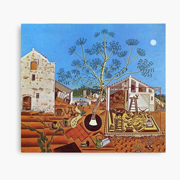 La granja (1921) de Joan Miró Lienzo