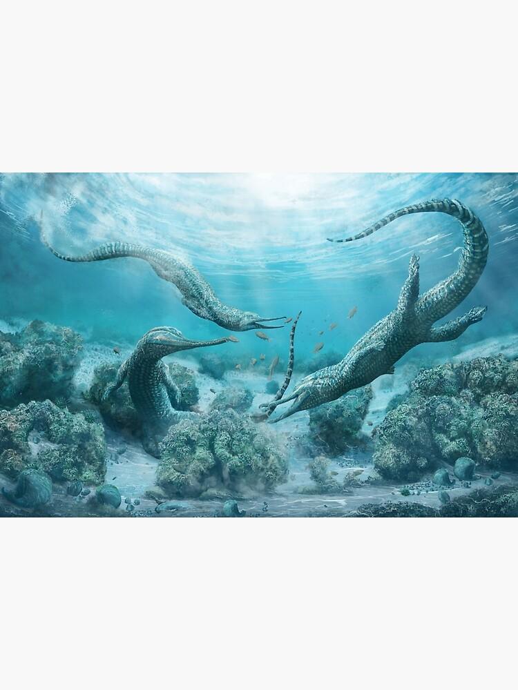 Mystriosuchus steinbergeri by MarkWitton