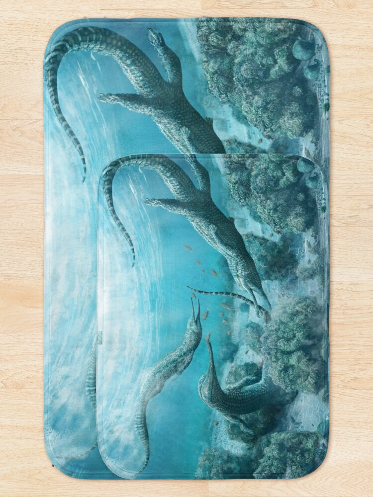 Alternate view of Mystriosuchus steinbergeri Bath Mat