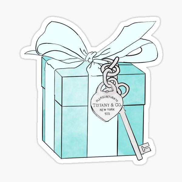 boîte de Tiffany Sticker