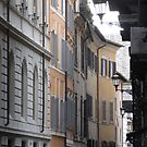 The Narrow Roman Street by Millissa Grace