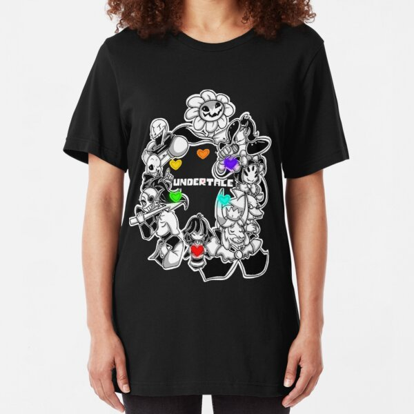 Undertale Slim Fit T-Shirt