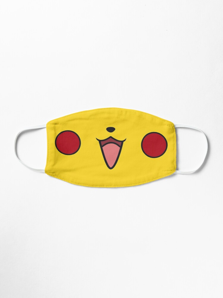 Alternate view of Electric mouse's smile Mask