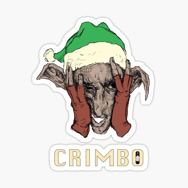 Crimbo Sticker