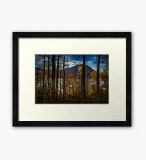 Hudson River Valley Fall View Framed Print