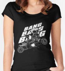 BIGBANG BANG BANG BANG (White) Women's Fitted Scoop T-Shirt
