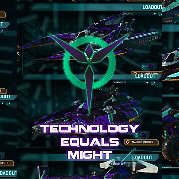 Technology Equals Might by EnricoV