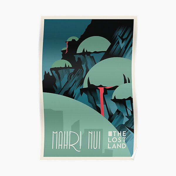 Bionicle Mahri Nui Travel Poster Poster