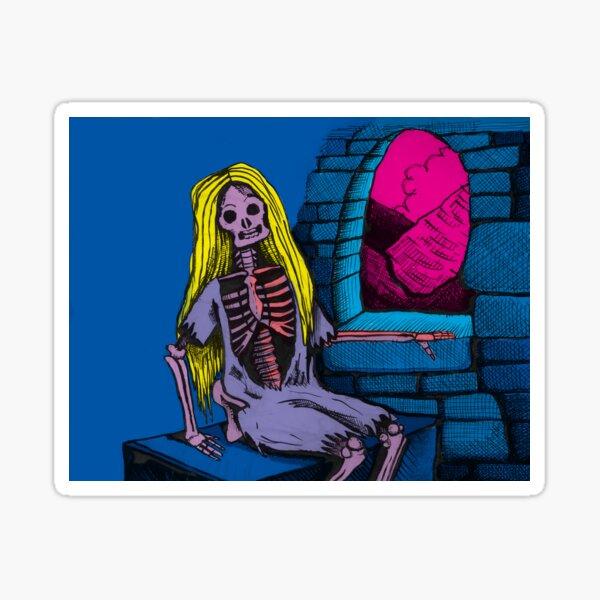 Zombie Rapunzel (High Quality) Sticker