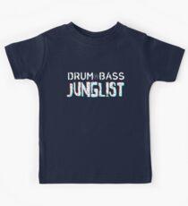 Drum&Bass/Junglist 3D Kids Tee