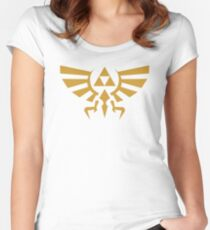 Zelda Triforce Women's Fitted Scoop T-Shirt