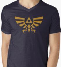 Zelda Triforce Men's V-Neck T-Shirt