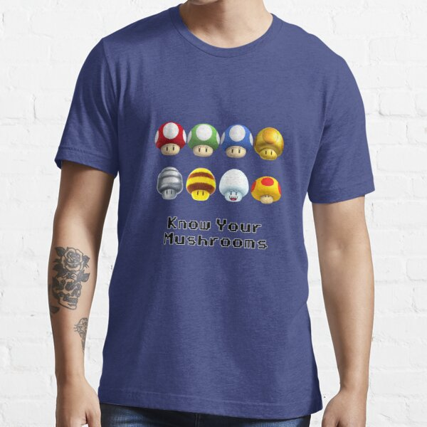 Know Your Mushrooms Essential T-Shirt