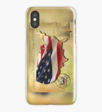 US Map iPhone Case/Skin