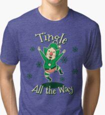 Tingle All the Way Tri-blend T-Shirt