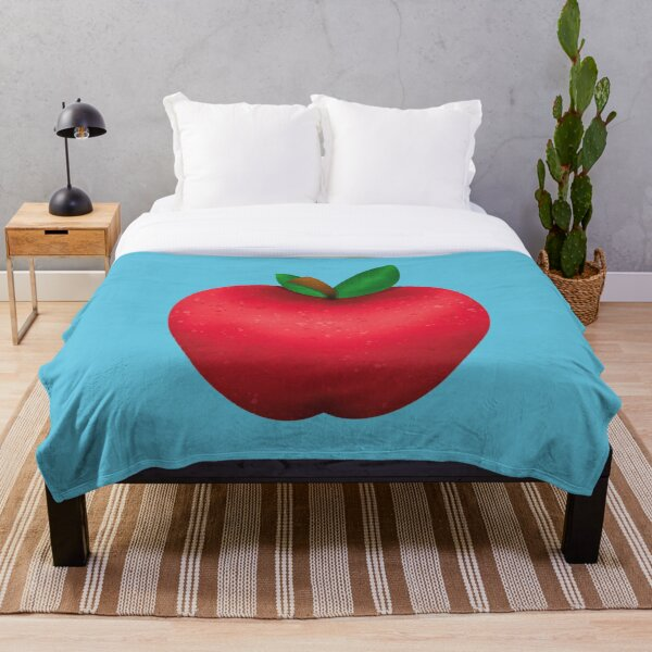 Simple Apple Throw Blanket