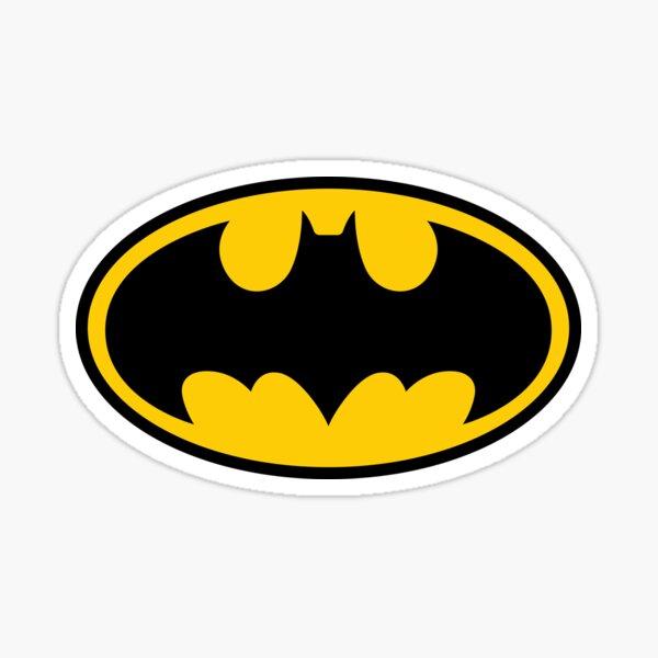 Classic Bat Logo Sticker