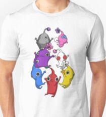 Jumping Pikmin Unisex T-Shirt