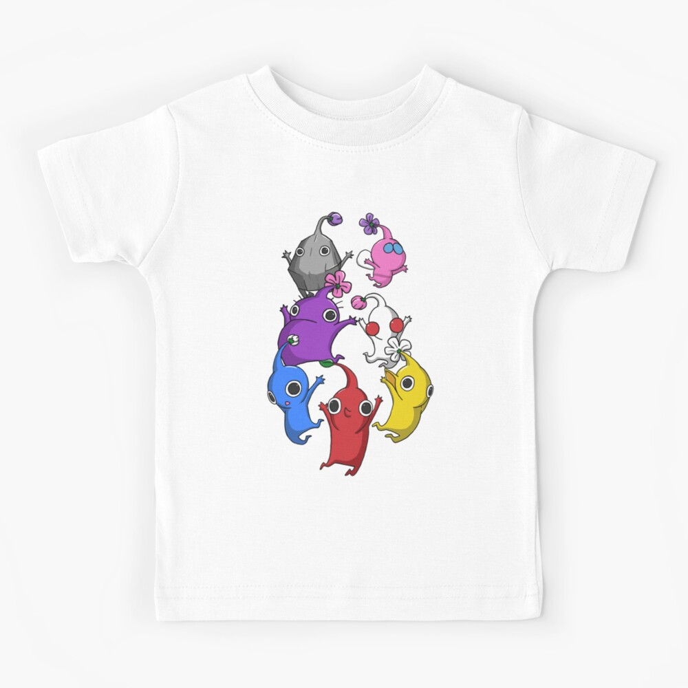 Jumping Pikmin Kids T-Shirt