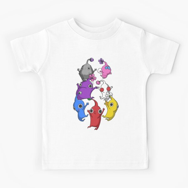 Jumping Pikmin Kids T-Shirt