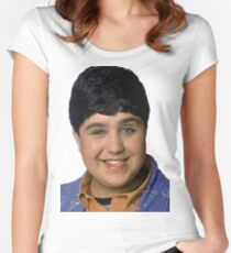 Josh Peck Portrait Women's Fitted Scoop T-Shirt