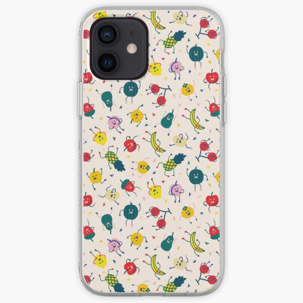Happy Fruits iPhone Soft Case