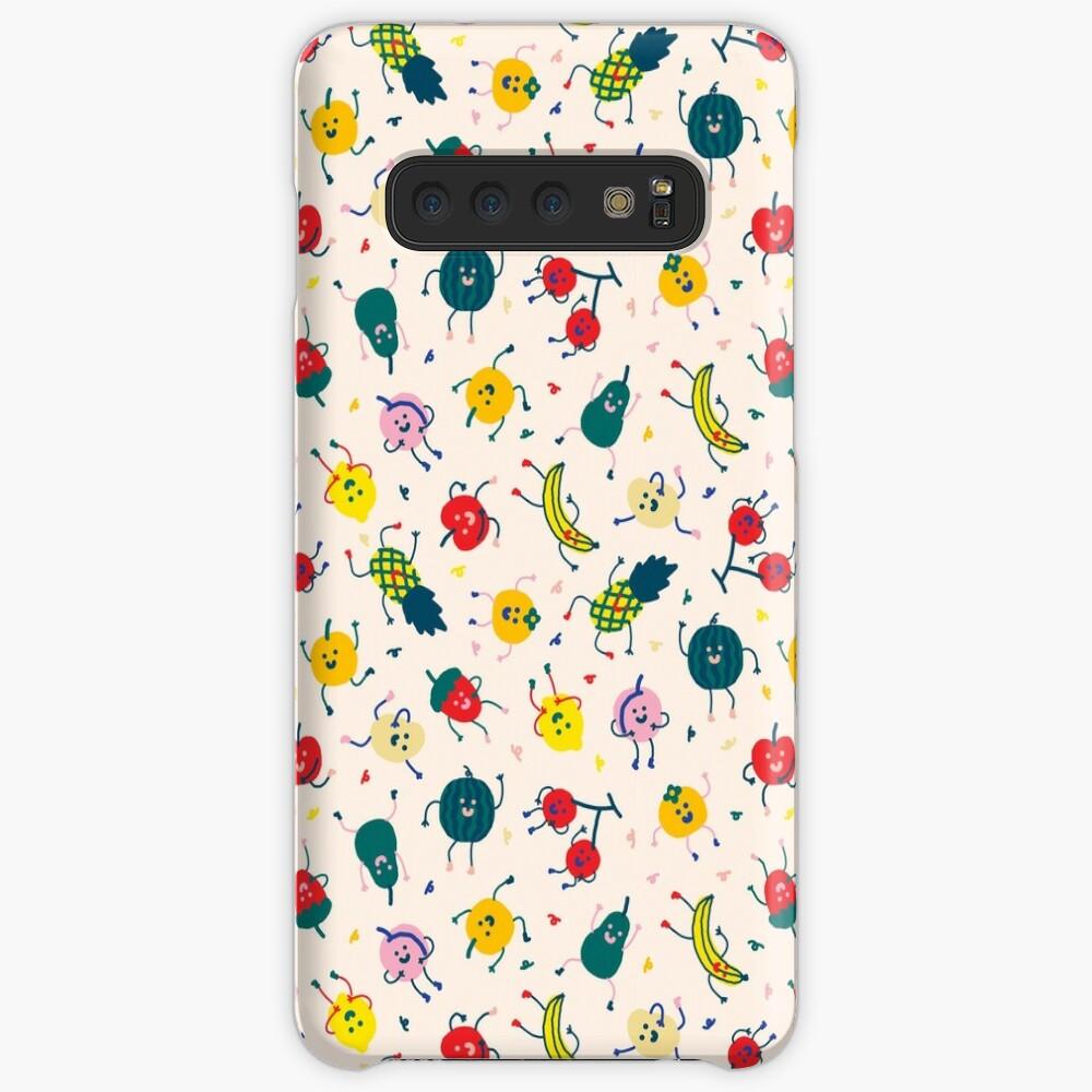 Happy Fruits Case & Skin for Samsung Galaxy
