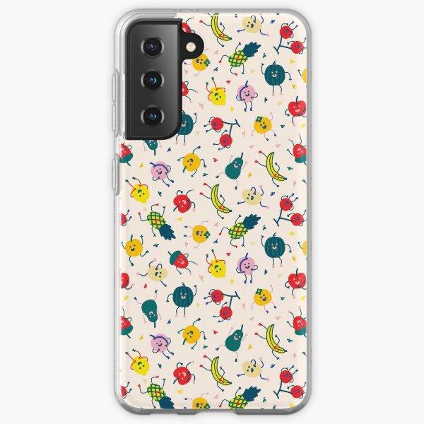 Happy Fruits Samsung Galaxy Soft Case