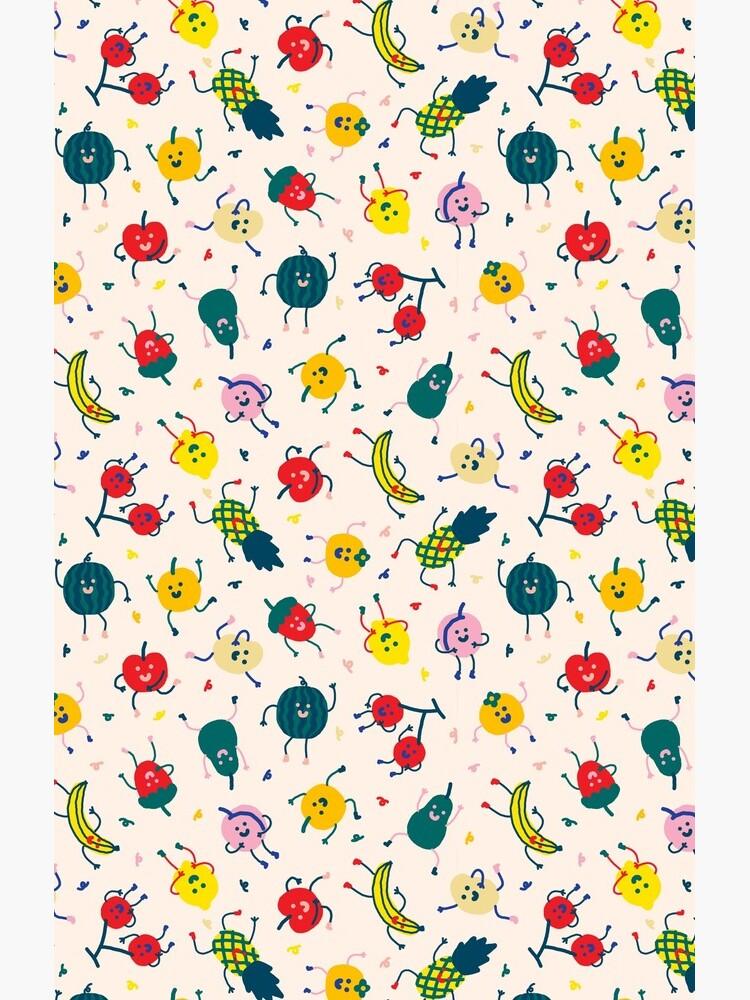 Happy Fruits by knyamazaki