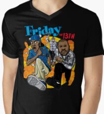 Friday the 13th T-Shirt mit V-Ausschnitt
