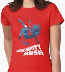 Gravity Rush Womens Fitted T-Shirt
