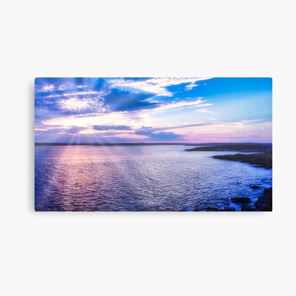 Newport RI Sunset Canvas Print