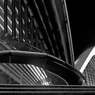 Sydney Opera House,Abstraction by Thomas Joannes