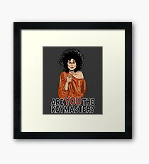 Are You the Keymaster? Framed Print