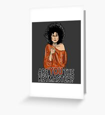 Are You the Keymaster? Greeting Card
