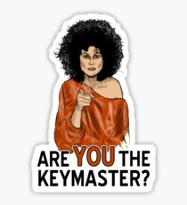 Are You the Keymaster? Sticker