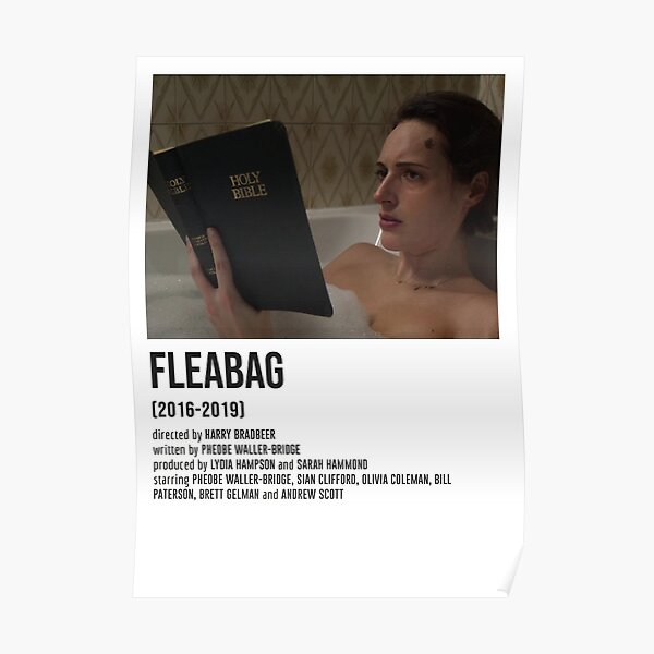 FLEABAG holy bible plot twist POSTER Poster