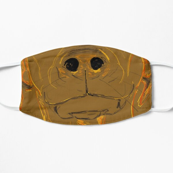 Separation Anxiety Flat Mask