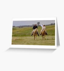 Getting Hitched Greeting Card
