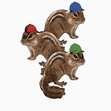 Chipmunks by jesselego