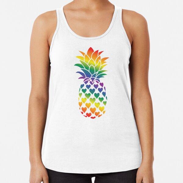 Queer Pineapple Racerback Tank Top