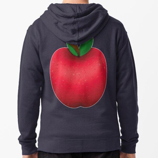 Simple Apple Zipped Hoodie