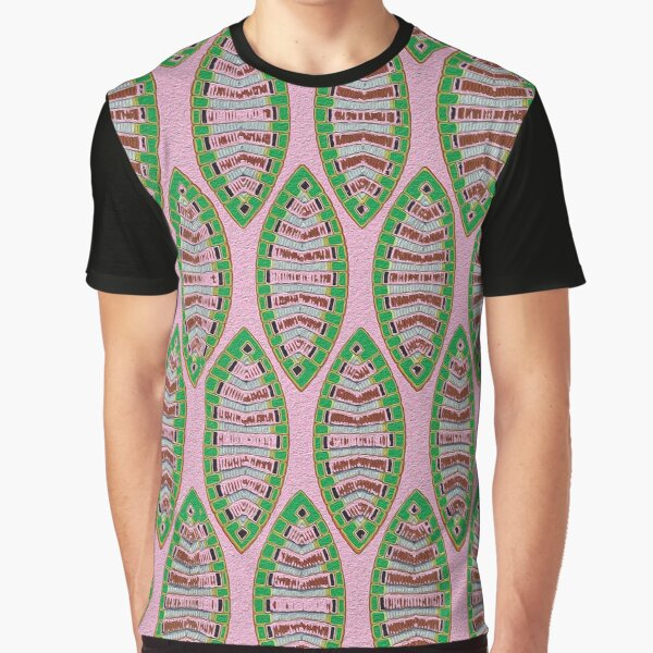 Pink Boats Graphic T-Shirt
