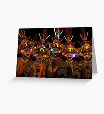 Masskara Festival Greeting Card